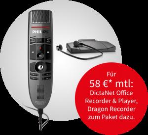 Philips SPM und Transcription-Set im Paket-Angebot