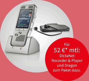 Unser Angebot mit Philips DPM und Transkriptionsset